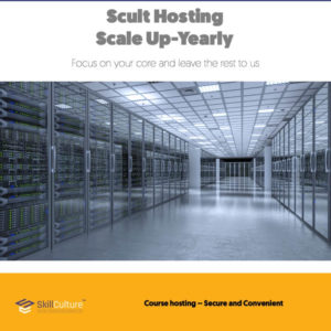 Scult Hosting Scale up yearly