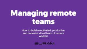 Managing remote team
