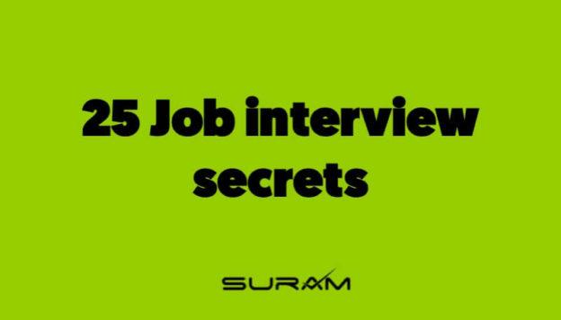 25 Job interview secrets
