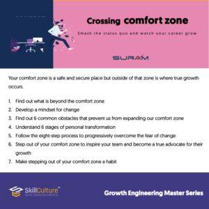 Crossing comfort zone
